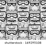 seamless pattern | Shutterstock .eps vector #169295108