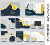 brochure creative design.... | Shutterstock .eps vector #1692996406