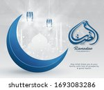 islamic holy month of ramadan...   Shutterstock .eps vector #1693083286