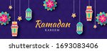 islamic holy month of ramadan... | Shutterstock .eps vector #1693083406