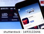 los angeles  california  usa  ... | Shutterstock . vector #1693122646
