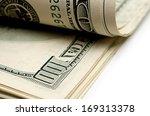 pack of dollars. | Shutterstock . vector #169313378