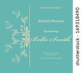 wedding or invitation card....   Shutterstock .eps vector #169318490