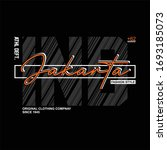 jakarta indonesia athletic... | Shutterstock .eps vector #1693185073