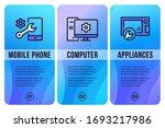 vector repair service design...   Shutterstock .eps vector #1693217986
