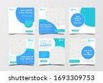medical healthcare banner for... | Shutterstock .eps vector #1693309753