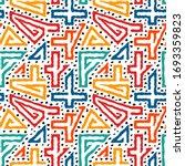 bright modern seamless pattern. ... | Shutterstock .eps vector #1693359823