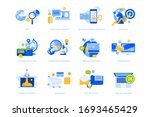flat design icons collection....   Shutterstock .eps vector #1693465429