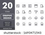 graphic design icon pack...
