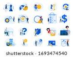 flat design concept icons... | Shutterstock .eps vector #1693474540