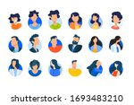 flat design concept icons... | Shutterstock .eps vector #1693483210