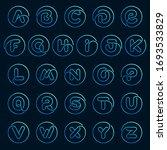 alphabet letters set in a...   Shutterstock .eps vector #1693533829