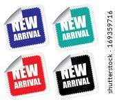 new arrival label  vector... | Shutterstock .eps vector #169359716