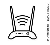 router icon. vector...