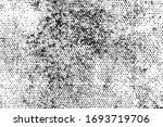 grunge black and white texture. ... | Shutterstock .eps vector #1693719706