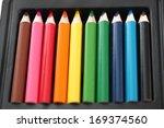 Ten Colored Pencils