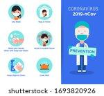 2019 ncov covid 19 virus... | Shutterstock .eps vector #1693820926