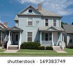 Older Blue House