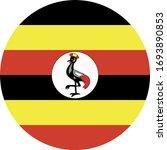 vector illustration of uganda... | Shutterstock .eps vector #1693890853