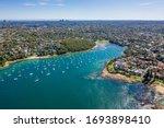 Aerial View On Reef Bay  Sydney ...