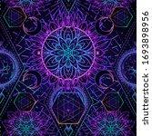 sacred geometry seamless...   Shutterstock .eps vector #1693898956