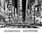 vector illustration of a street ...   Shutterstock .eps vector #169390580