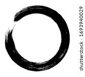 circle ink brush stroke ...   Shutterstock .eps vector #1693940029