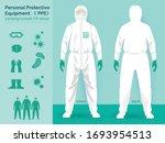 vector set illustration of... | Shutterstock .eps vector #1693954513