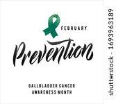 vector gallbladder cancer... | Shutterstock .eps vector #1693963189