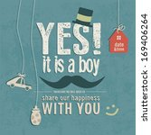 Baby Boy Funny Invitation For...