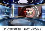 News Virtual Set Studio For...