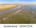 venice beach shoreline ... | Shutterstock . vector #169417376