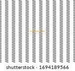 zig zag lines pattern. black... | Shutterstock .eps vector #1694189566