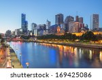 Melbourne City And The Yarra...