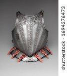 Italian Silver Breastplate ...