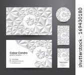 business card  template .... | Shutterstock .eps vector #169430180