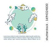 aquatic food chain concept icon ... | Shutterstock .eps vector #1694324830