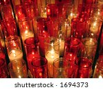 White And Red Votive Candles I...