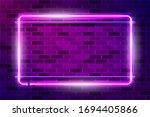 horizontal rectangular frame...   Shutterstock .eps vector #1694405866