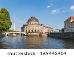 Museum Island On Spree River...