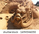 Amazing Sand Sculpture Of The...