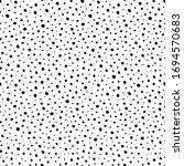 polka dot background  irregular ... | Shutterstock .eps vector #1694570683