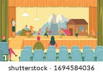 father mother parent audience... | Shutterstock .eps vector #1694584036