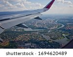 Aerial View Of Moscow  Russia ...