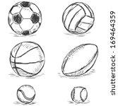 vector sketch illustration  ... | Shutterstock .eps vector #169464359