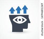 predictive analytics vector... | Shutterstock .eps vector #1694681269