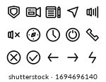 ui basic icon set fit for...