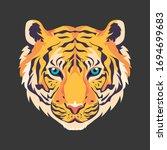 tiger head illustration vector...   Shutterstock .eps vector #1694699683