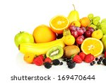 fresh fruits and berries... | Shutterstock . vector #169470644