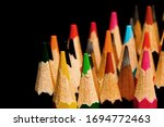 close up of wooden colored...   Shutterstock . vector #1694772463